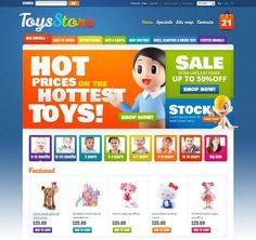 Toys Store Prestashop Themes