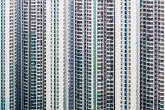 Urban Barcode of Hong Kong by Manuel Irritier