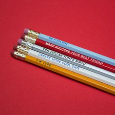 Ten Dollar Fonts Pencils #fonts #dollar #ten #pencils