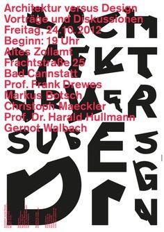 architecturevsdesign poster by burkhardthauke #kjbj