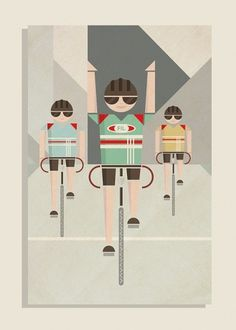 MADE BY ME #bicycle #design #retro #vintage #poster