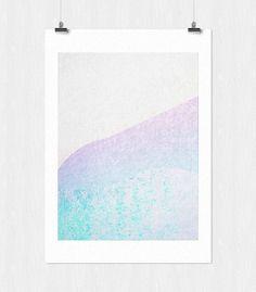 Landscape series - 3 #tranquil #print #design #texture #landscape #calm #leriquiqui #series #art #blue #pastel