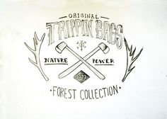Handbag illustration - Trippinxc2xb4 Store #stamp #branding #print #brand #illustration #drawn #logo #hand