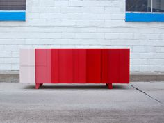 Ombre Console by Implement - furniture, furniture design, #design, modern furniture, #furniture