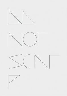 coast.tumblr #modern #gray #poster #typography