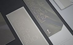 The Golden Camera 2013 #print #design #graphic #gold #gray #type #paper #foil