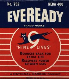 Eveready #vintage packaging