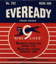 Eveready #packaging #vintage