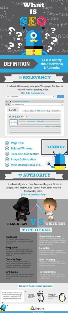 Simple Explanation to What is SEO [Infographic]