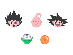 Dragon Ball Z Emoji by Marcus Rentsch