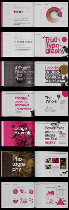 Branding style guide. Who said style guides have to be boring?