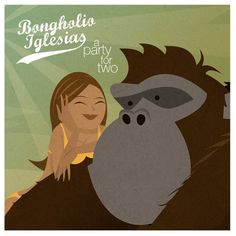 A tumblr to discover the world of beat-making gorilla Bongholio Iglesias. #jungle #artwork #cover #illustration #gorilla #music #beats