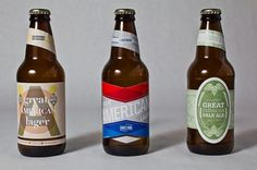 Ryan Hubbard #packaging #beer #vintage