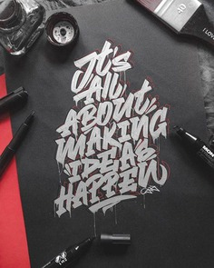 Beautiful Lettering and Typography Design for Inspiration