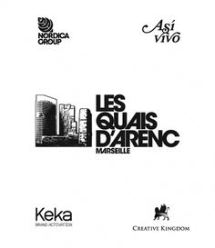Logotypes®/Behance Network #creative #keka #logo #real #treatment #type #logotypes #buildings #estate