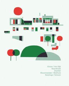 1278415959.jpg (370×463) #red #poster #green
