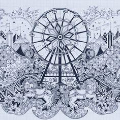 Dezeen » Blog Archive » Interview: Max Fraser at Joy of Living #max #house #sommerset #of #design #living #fraser #illustration #art #joy