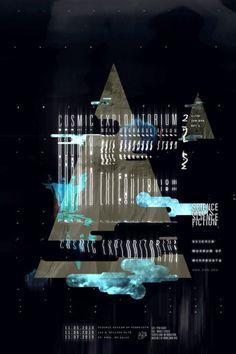 Cosmic Exploritorium - Anton Pearson #design #anton #poster #pearson