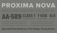 Proxima Nova Specimen #typeface #font