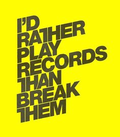 All sizes | Play Records - 19 / 01 / 09 | Flickr - Photo Sharing! #olly #moss #typography