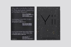 Onion Design | Yii design invitation card #white #invitation #print #design #black #identity #and #logo
