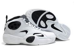 Men Nike Air Flight One NRg Black and White #shoes