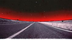 Cruiser Intro (MK Motion) #muscle #intro #red #sky #cruiser #way #rough #70s #road #black #car