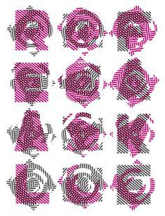 Vertigo Type by Enisaurus #lettering #vertigo #typography