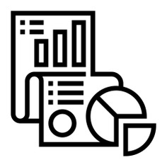 See more icon inspiration related to research, data, document, files and folders, business and finance, bar graph, pie chart, analysis and statistics on Flaticon.