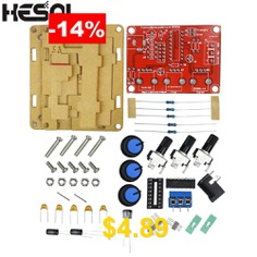 HESAI #XR2206 #Function #Signal #Generator #DIY #Kit #Sine #Triangle #Square #Wave #1HZ-1MHZ #DDS #with #Manual