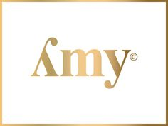 Amy fashion concept #fashion #logo #amy