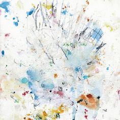 ghostly, music, painting, art, white, splatter, ink, drip, canvas