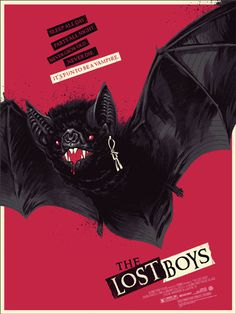 The Lost Boys Poster by Phantom City Creative