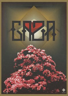 Gaza Poster by Oslo #oslo #collage #gaza #poster