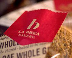 La Brea Bakery #bakery #identity #bread