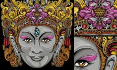 Stunning Artwork & illustration collection by Balinese - Indonesia #illustration #balinese