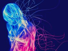 Stop Haunt Me Everyday Collection on the Behance Network #of #energy #woman #purpleblue
