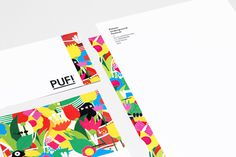 PUF!xe2x84xa2 Festival - Brand Identity #plants #festival #print #design #graphic #culture #illustration #identity #stationery