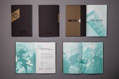 Description #print #book #annual report #photography #monotone