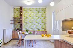 Freshness, joy and color interior design by Elina Dasira - www.homeworlddesign. com (8) #apartments #kitchen #design