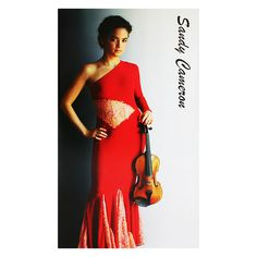 Sandy Cameron Music CD Presentation Folder #violin #presentation #music #cd #folder