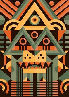 Masks illustration Series - Ben Newman Illustration