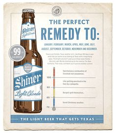 Shiner Light Blonde Poster #beer #ad