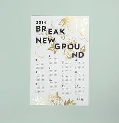 Etsy Holiday Campaign 2012 - Melissa Deckert on Behance #print #typography #flowers