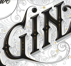 Imaginarium by Anton Burmistrov #type #decorative #lettering #typography