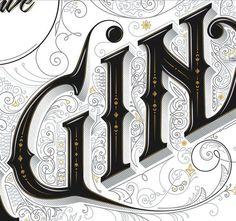 Imaginarium by Anton Burmistrov #typography #type #lettering #decorative