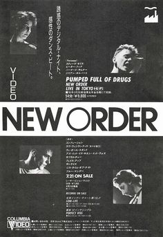 New Order Pumped Full of