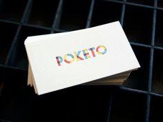 Poketo #logo #design