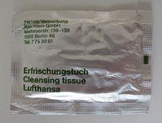 Lufthansa Tissue Flickrgraphics