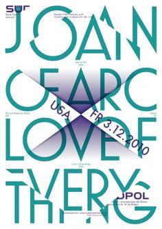 11-Joan-Of-Arc.jpg 1131×1599 pixels #pfaeffli #theatre #design #sdpol #poster #felix